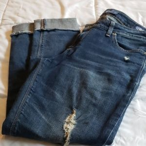 Lucky brand lolita skinny ankle jeans size 8